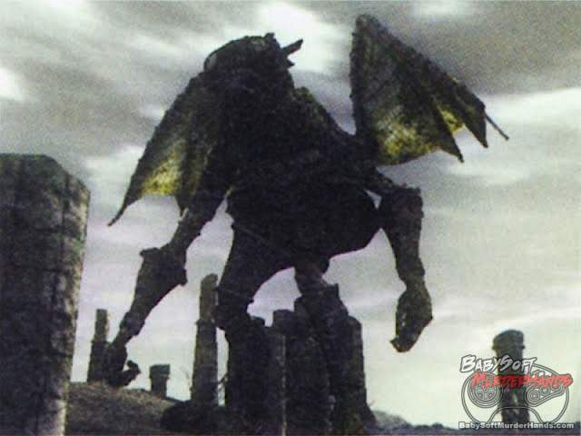 Shadow of the Colossus unused colossi
