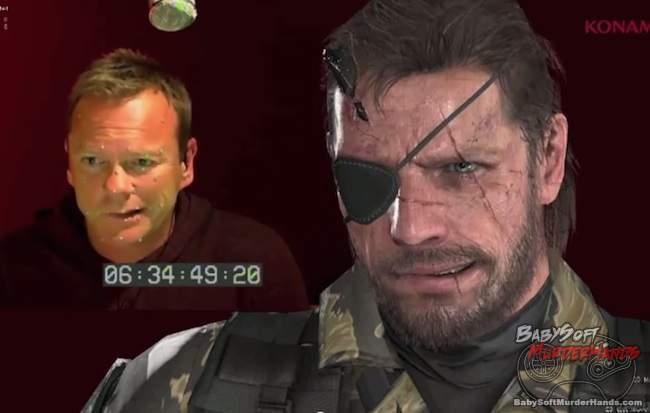 E3 MGS5 Kiefer Sutherland voice Snake