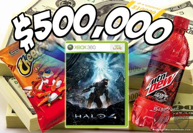 Halo 4 500 thousand dollar tournament