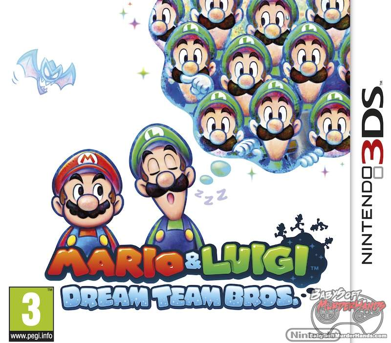 Mario and Luigi- Dream Team Bros box