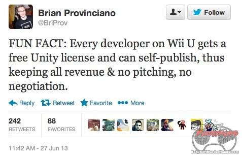 Wii U free unity pro dev kit