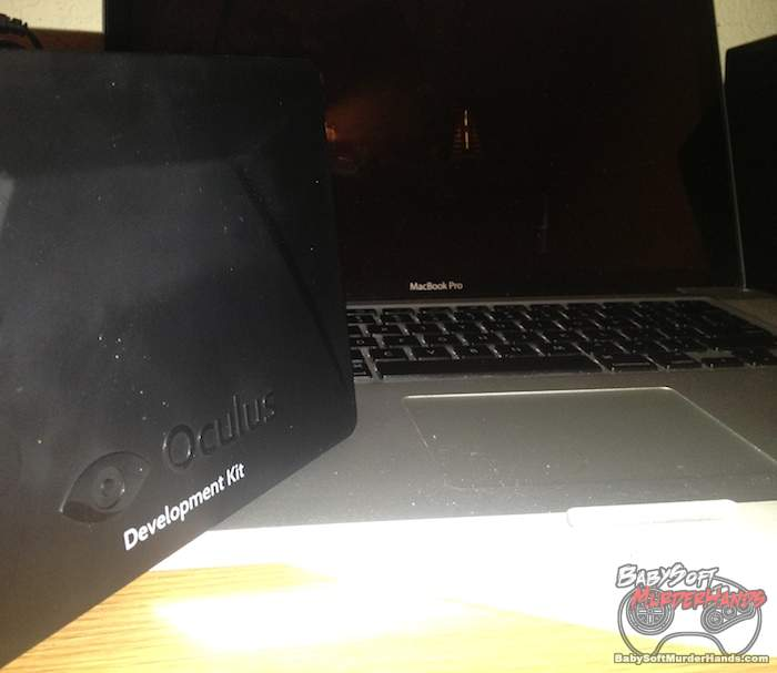 Macbook Pro Oculus Rift