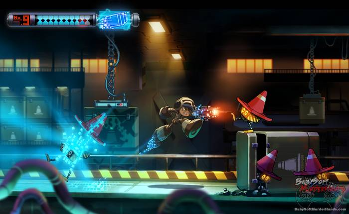 mighty no 9 screenshot