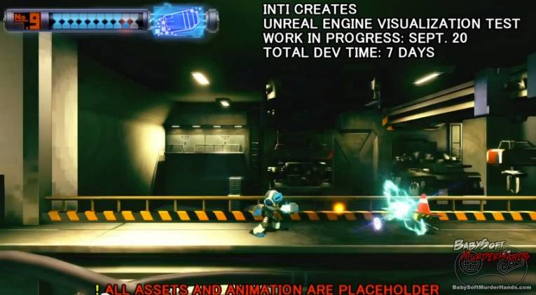 Mighty no 9 screenshot real