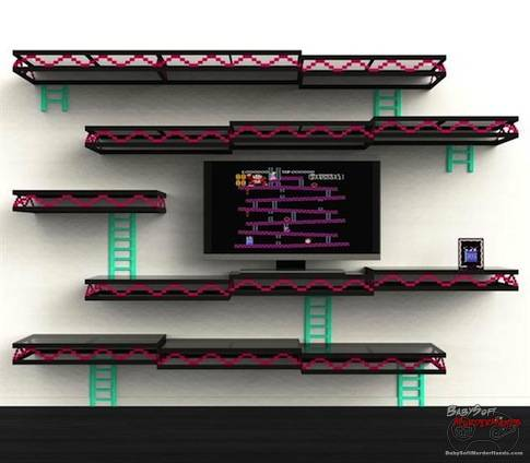 donkey kong tv entertainment center