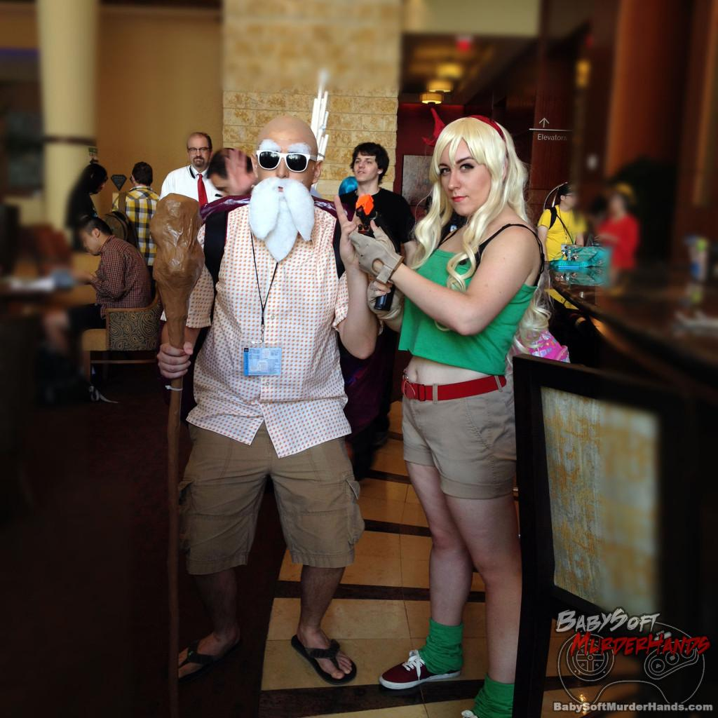 Dragon Ball Cosplay Master Roshi Launch