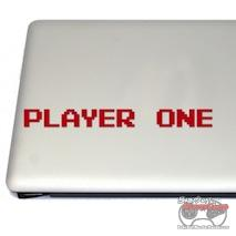 Player One Cosplay And Fan Gear Gaming Vinyl Decal