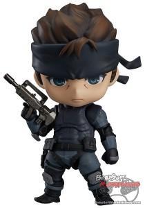 Nendoroid Vinyl Figure Metal Gear Solid Solid Snake Figure