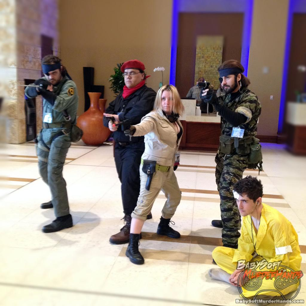 Metal Gear Solid Cosplay Group