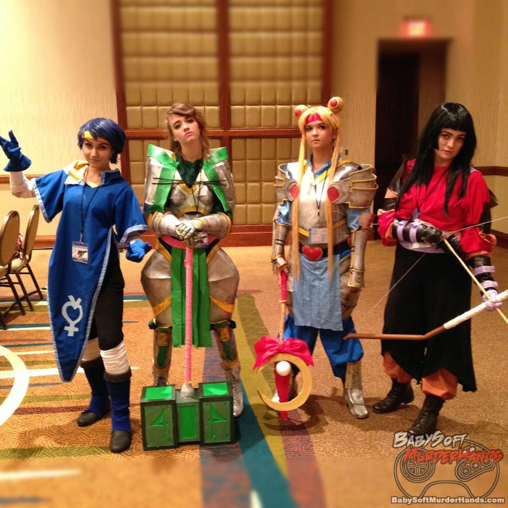 Sailor Moon Cosplay Samurai Warriors