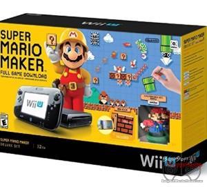 Nintendo Wii U Super Mario Maker Console Deluxe Set Cyber Monday