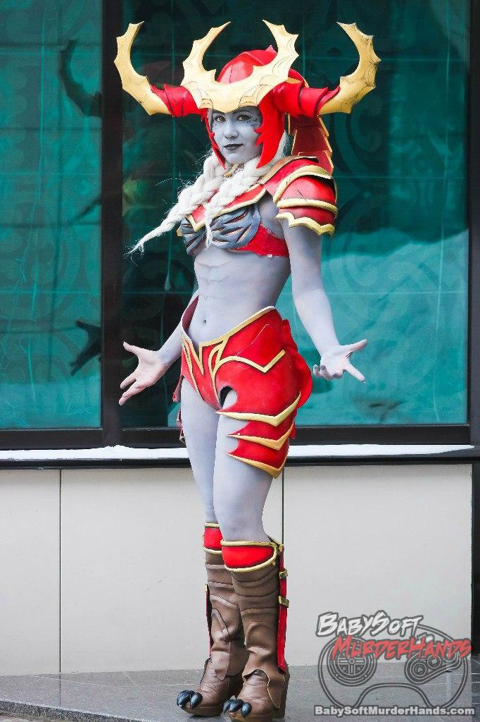 MikNishi (MikNishi)  Shyvana  of League of Legends Cosplay