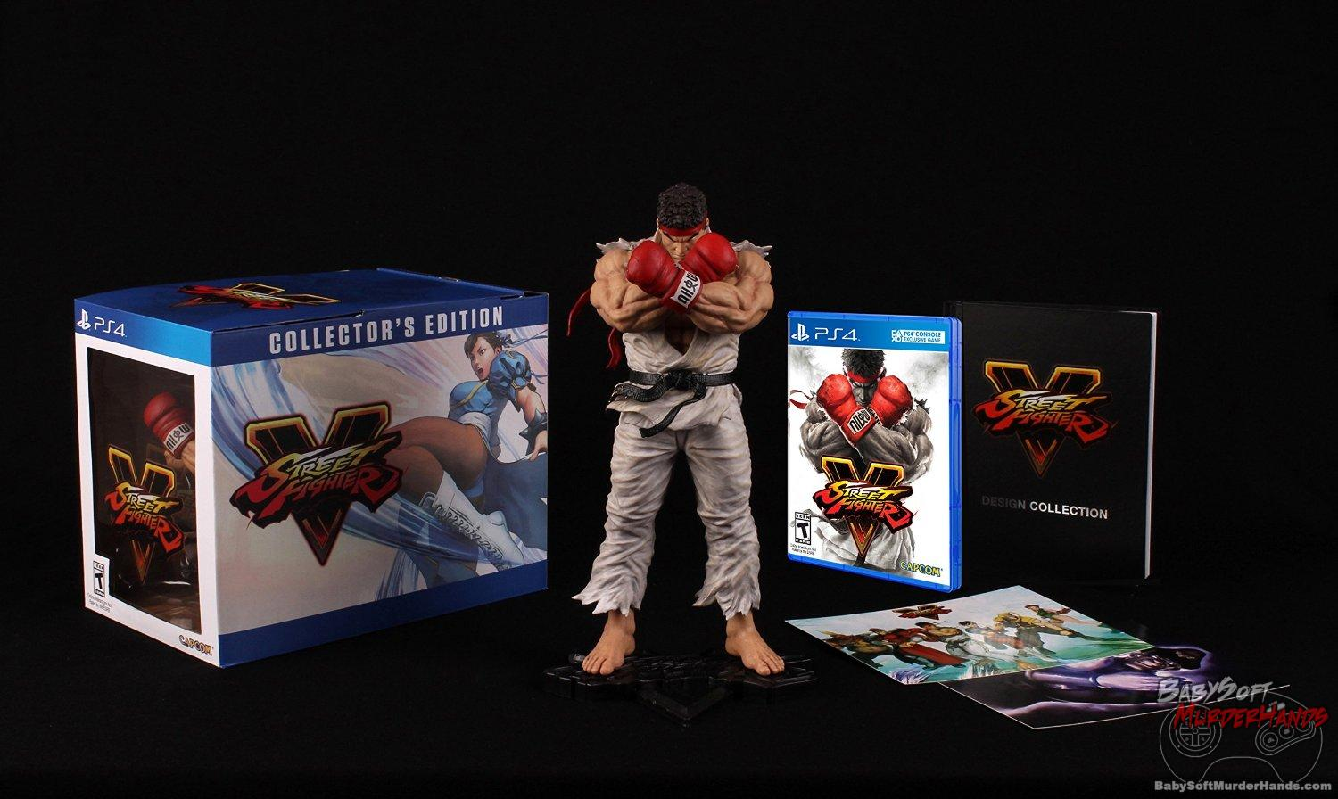 Street Fighter V - Collector's Edition - PlayStation 4