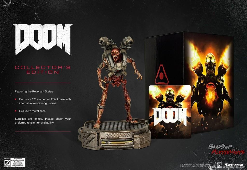 Doom Collector's Edition Figure