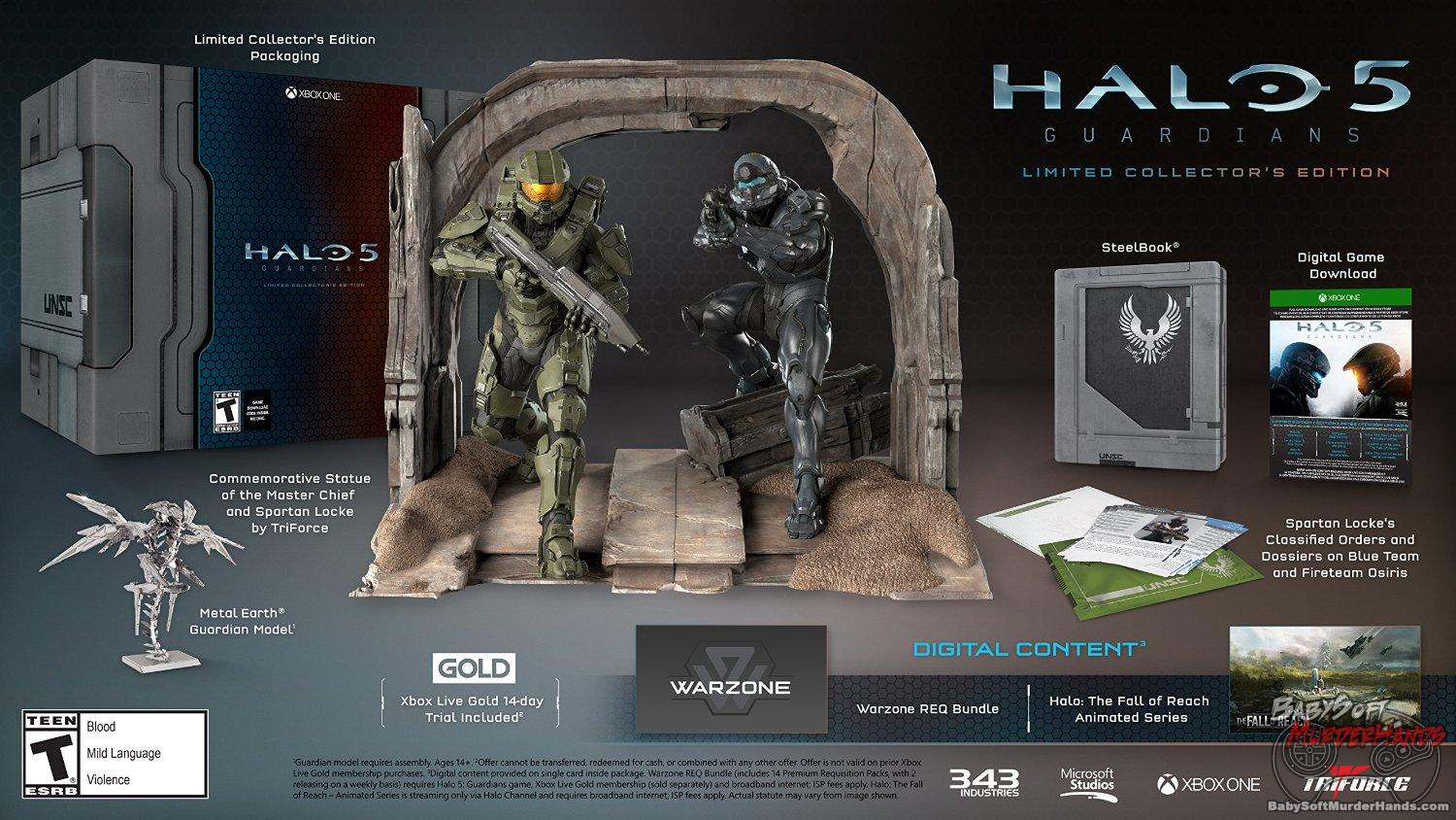 Halo 5: Guardians - Limited Collector's Edition - Xbox One