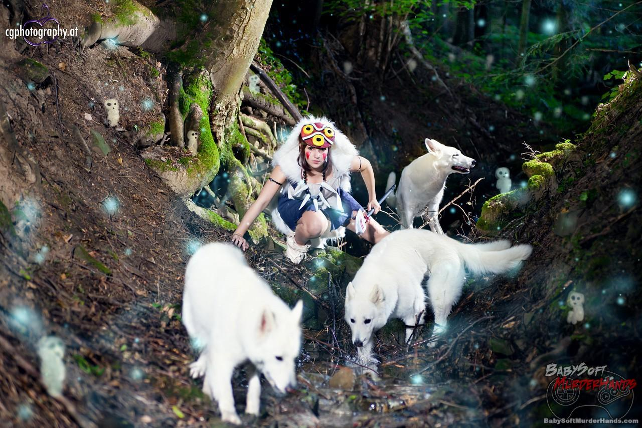 Justawaykitty (Kitty {Kitakichan}) San of Princess Mononoke cosplay