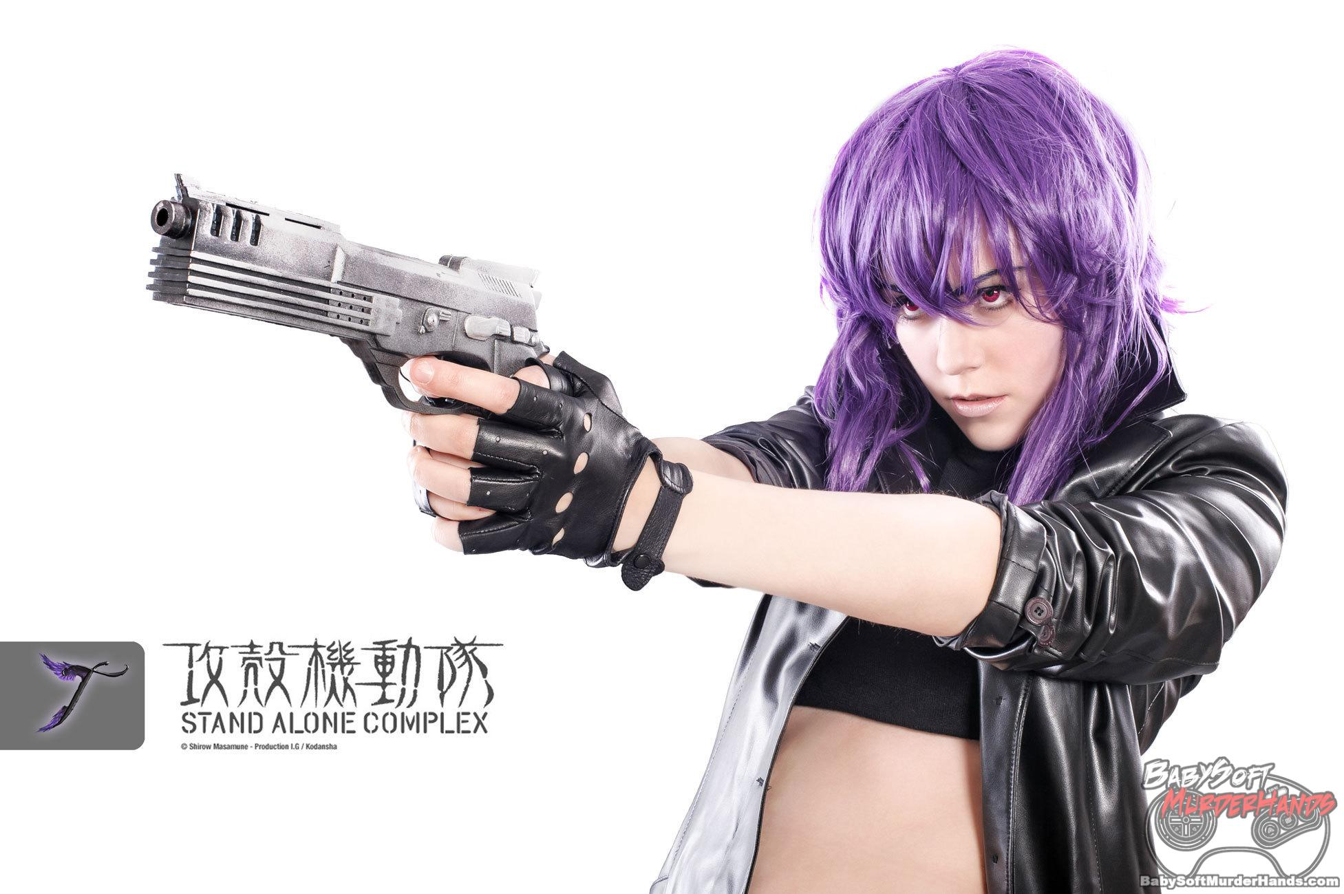 Tenshi Motoko Kusanagi of Ghost in the Shell: Stand Alone Complex Cosplay