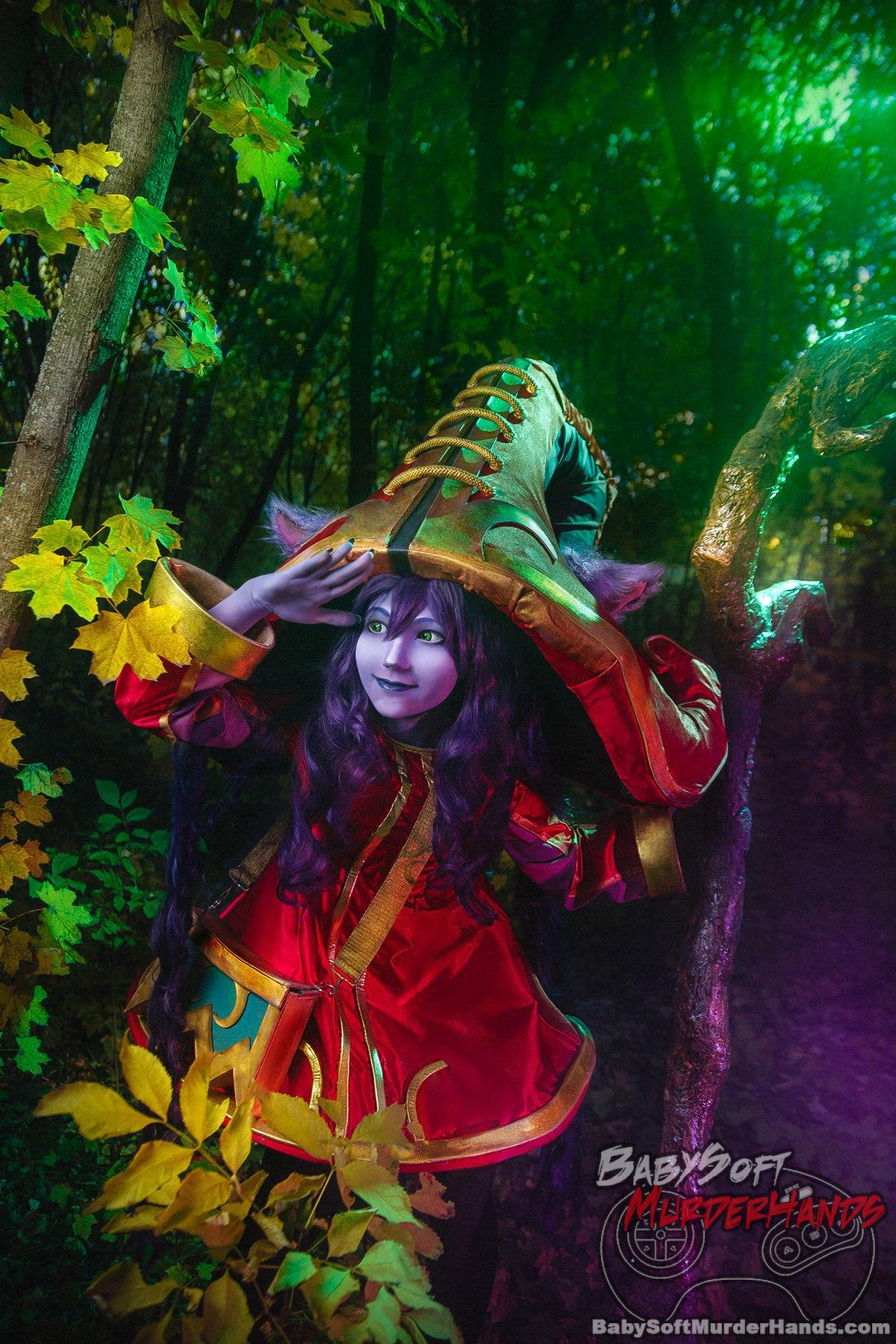 RiriFebrile  Lulu  of League of Legends Cosplay