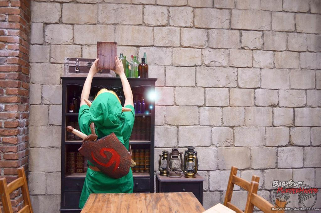 Sota (颯太) Link of The Legend of Zelda: Ocarina of Time Cosplay
