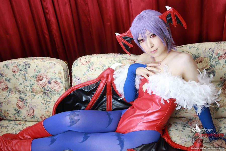 iduna (いづな) Lilith of Vampire Savior Cosplay
