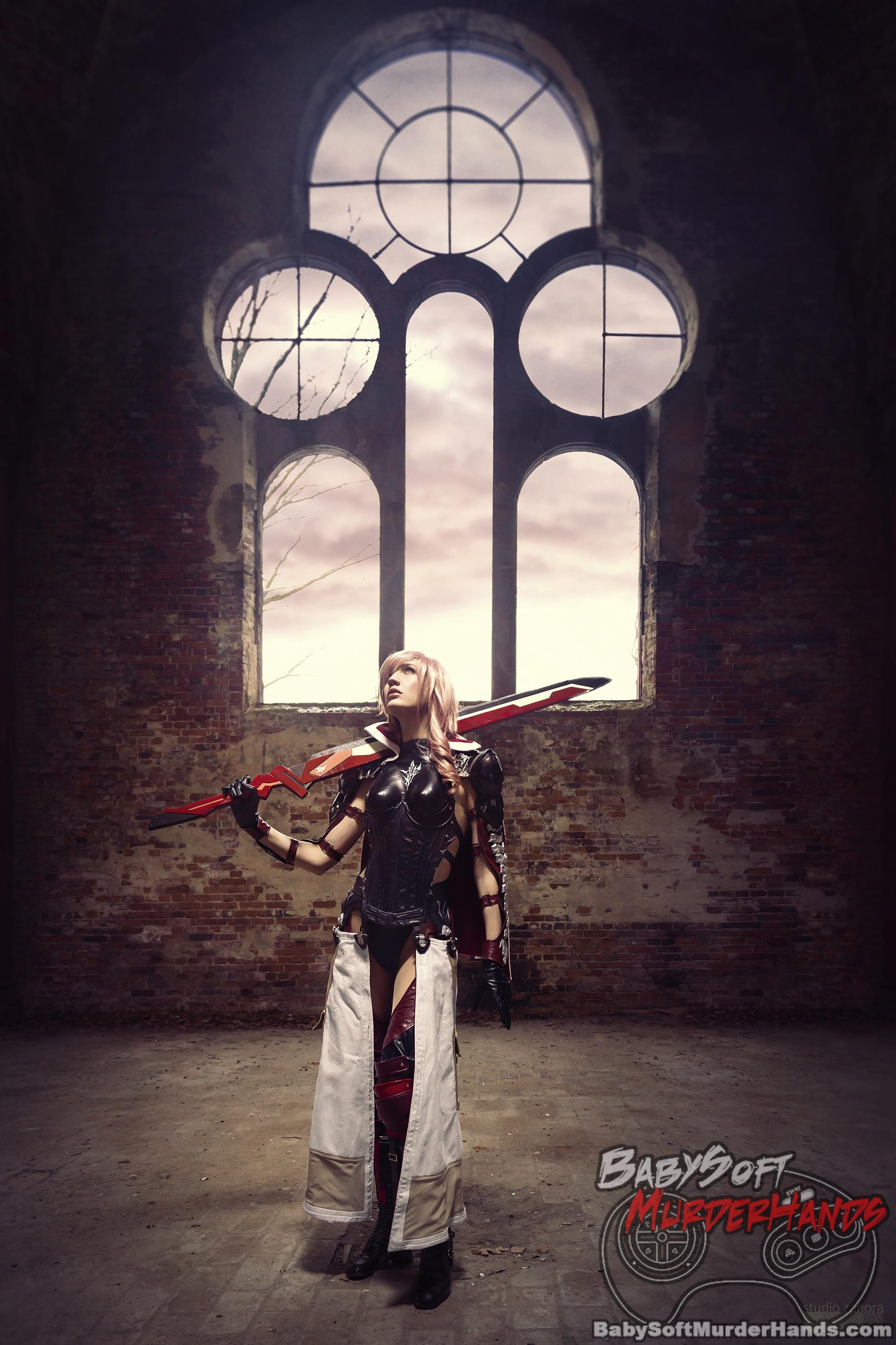 Nek (Neko-tin) Lightning of FINAL FANTASY XIII Cosplay