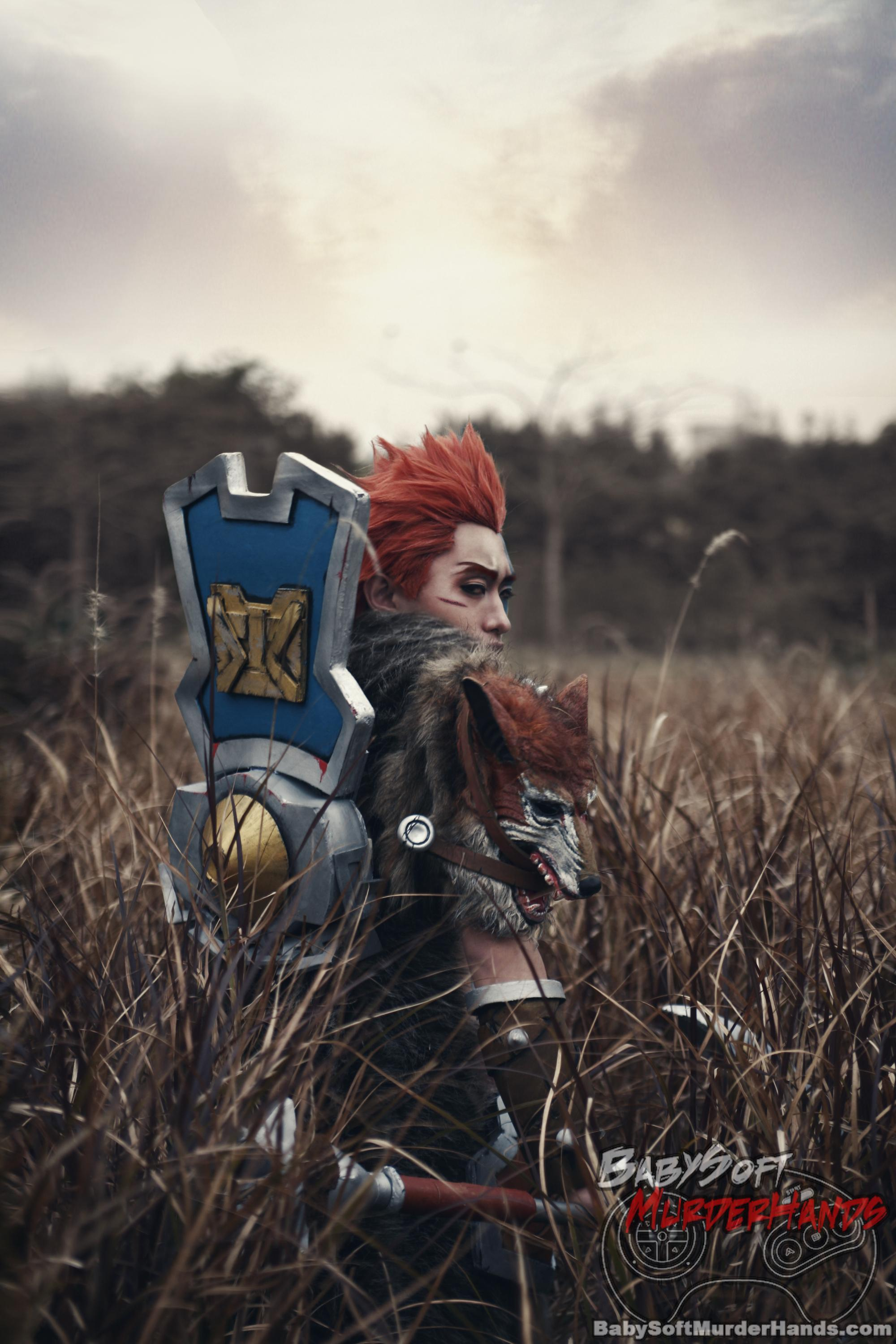 DZZ (点缀者)  Darius  of League of Legends Cosplay