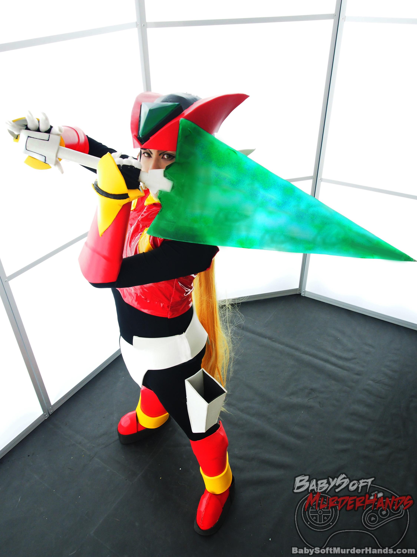 ShindouShuichi (愁一) Megaman Zero cosplay from Rockman Zero