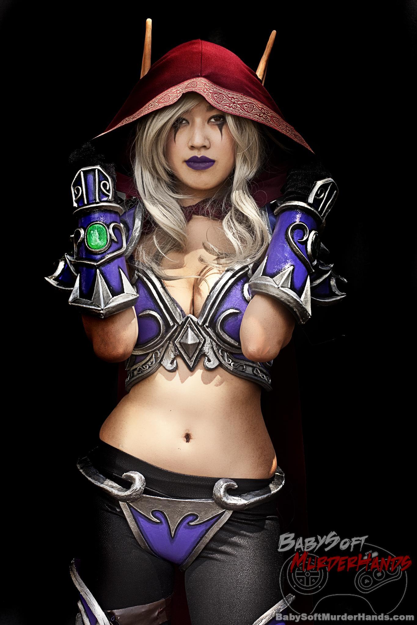 Alena (RKKyriaki Cosplay) Sylvanas Windrunner of World of Warcraft -3000 Cosplay