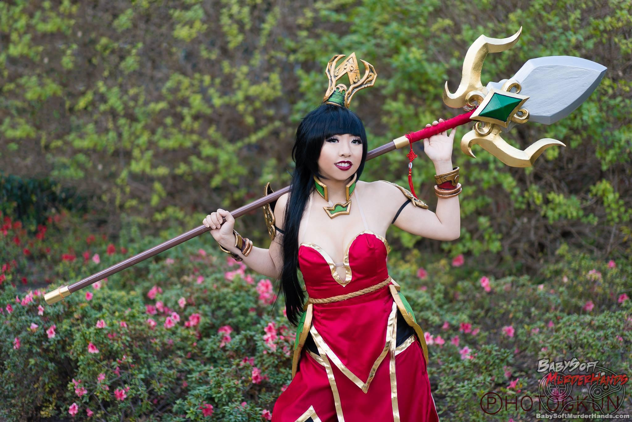 TsundeRen  Warring Kingdoms Nidalee  of League of Legends  Cosplay