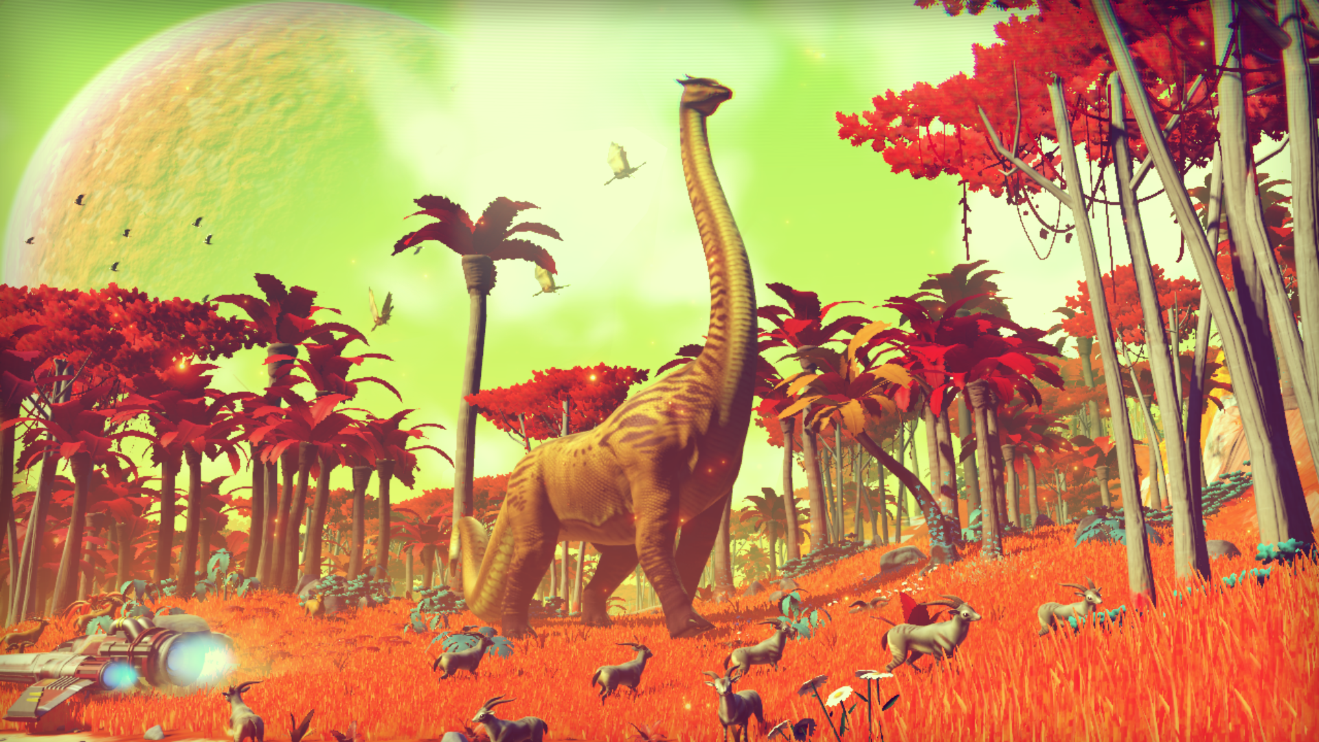 No Man's Sky Screenshot dinosaur diplo