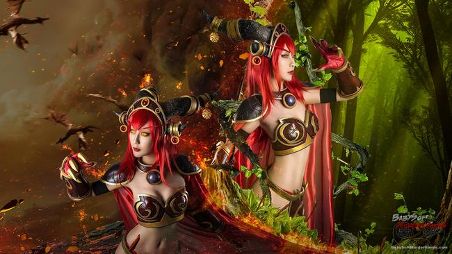 KEER (K)  Alexstrasza  of World of Warcraft  Cosplay
