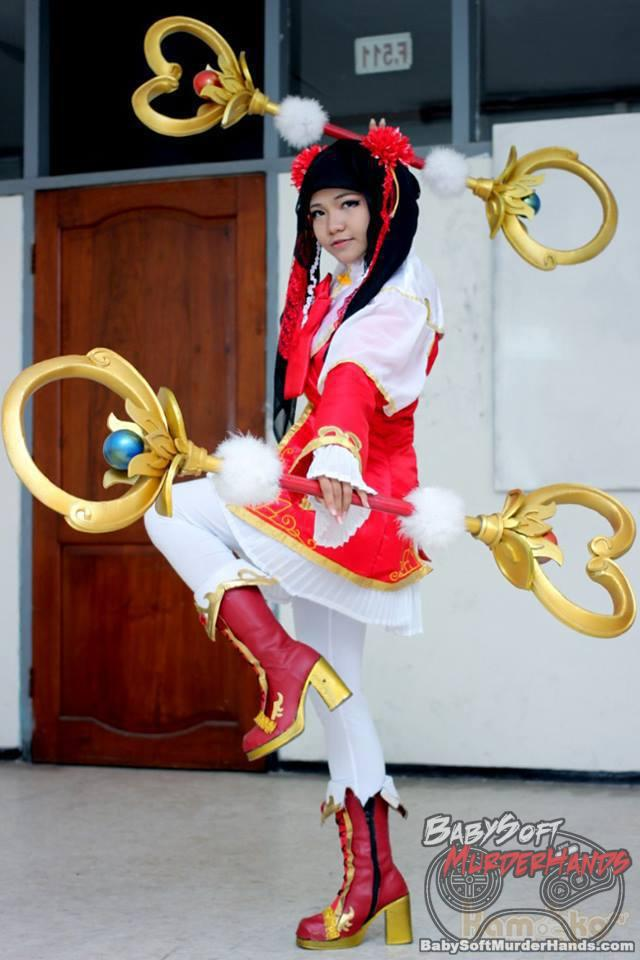 Nisami Hatsune  Da Qiao  of Dynasty Warriors 8 Cosplay