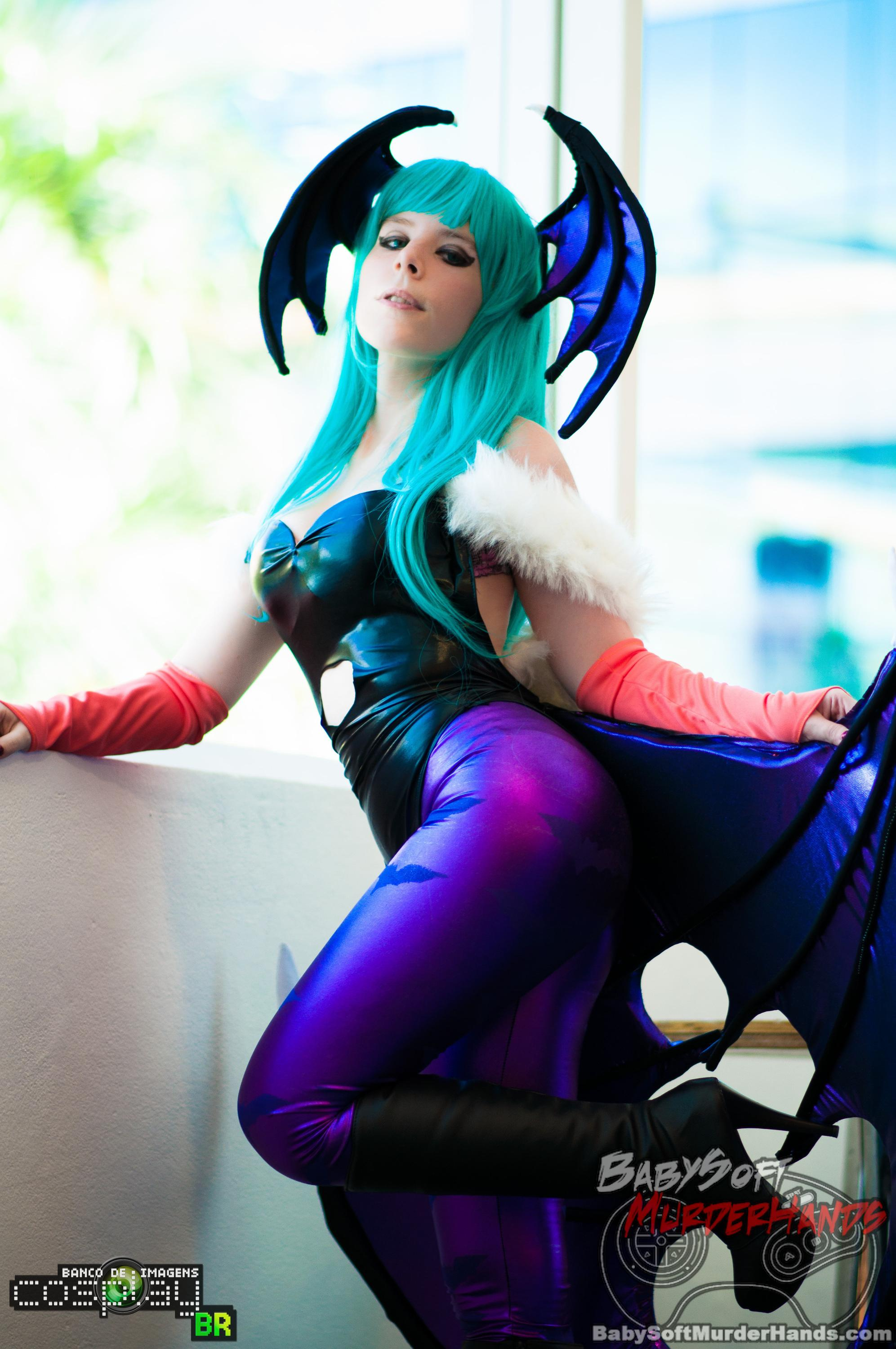 Morrigan Darkstalkers  Cosplay