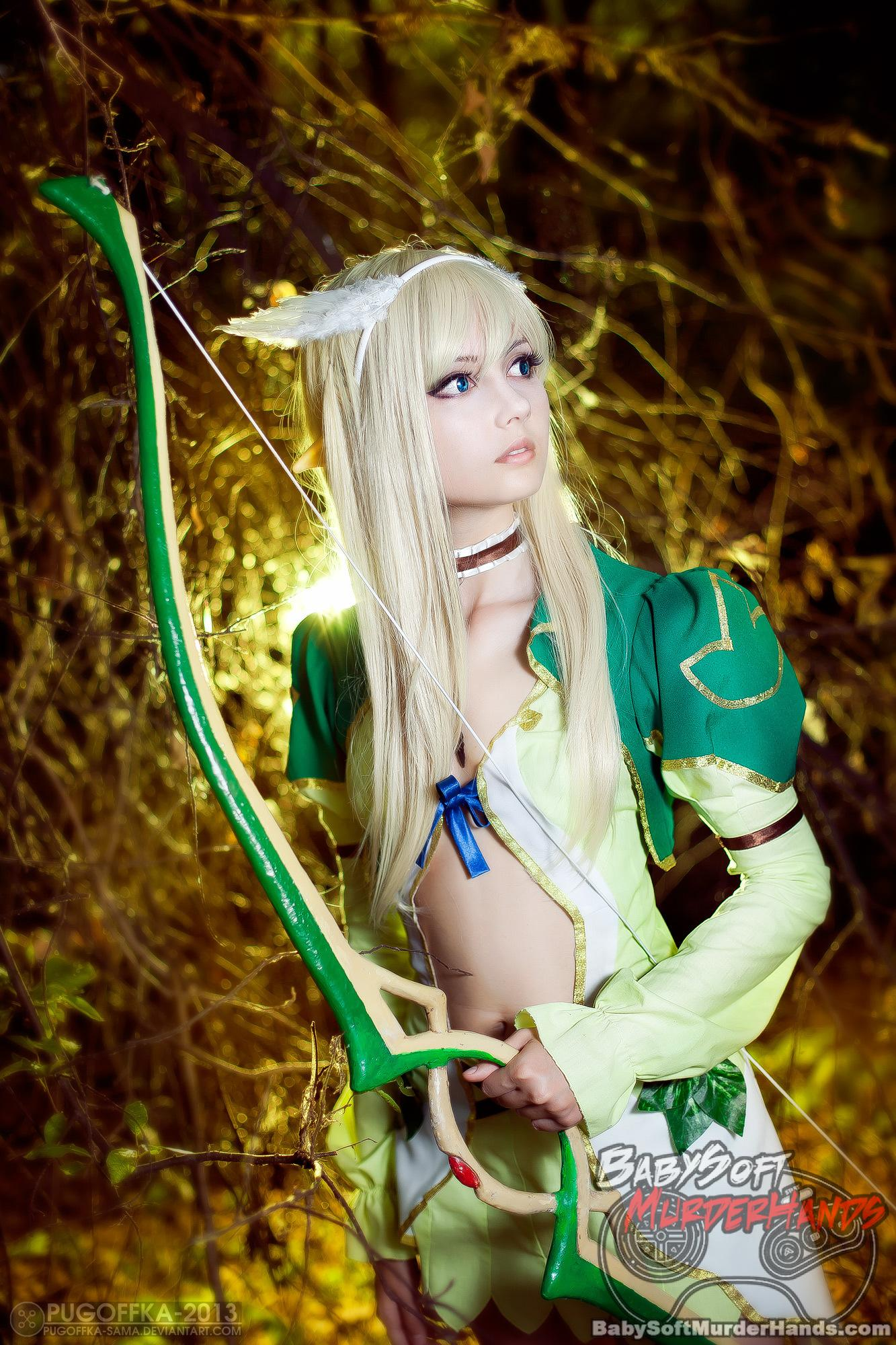 Sonic Elwing of Shining Tears Cosplay