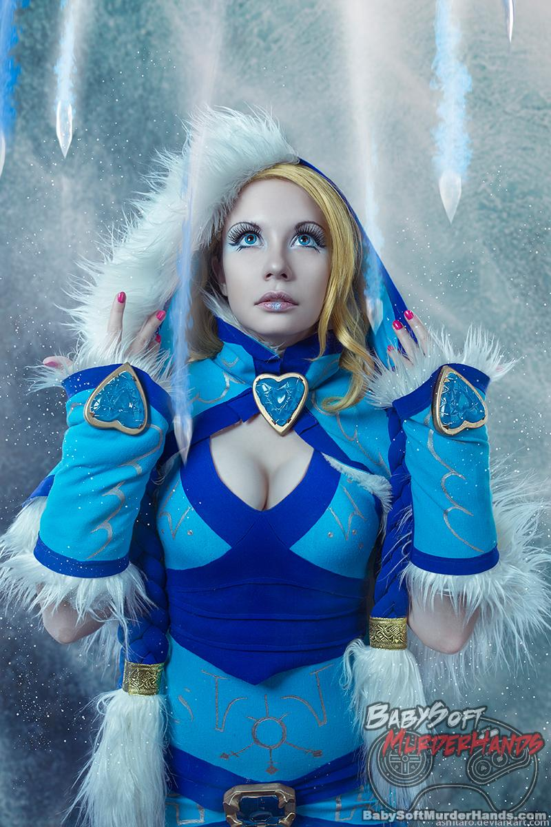 Dantesha  Crystal Maiden  of Dota2 Cosplay