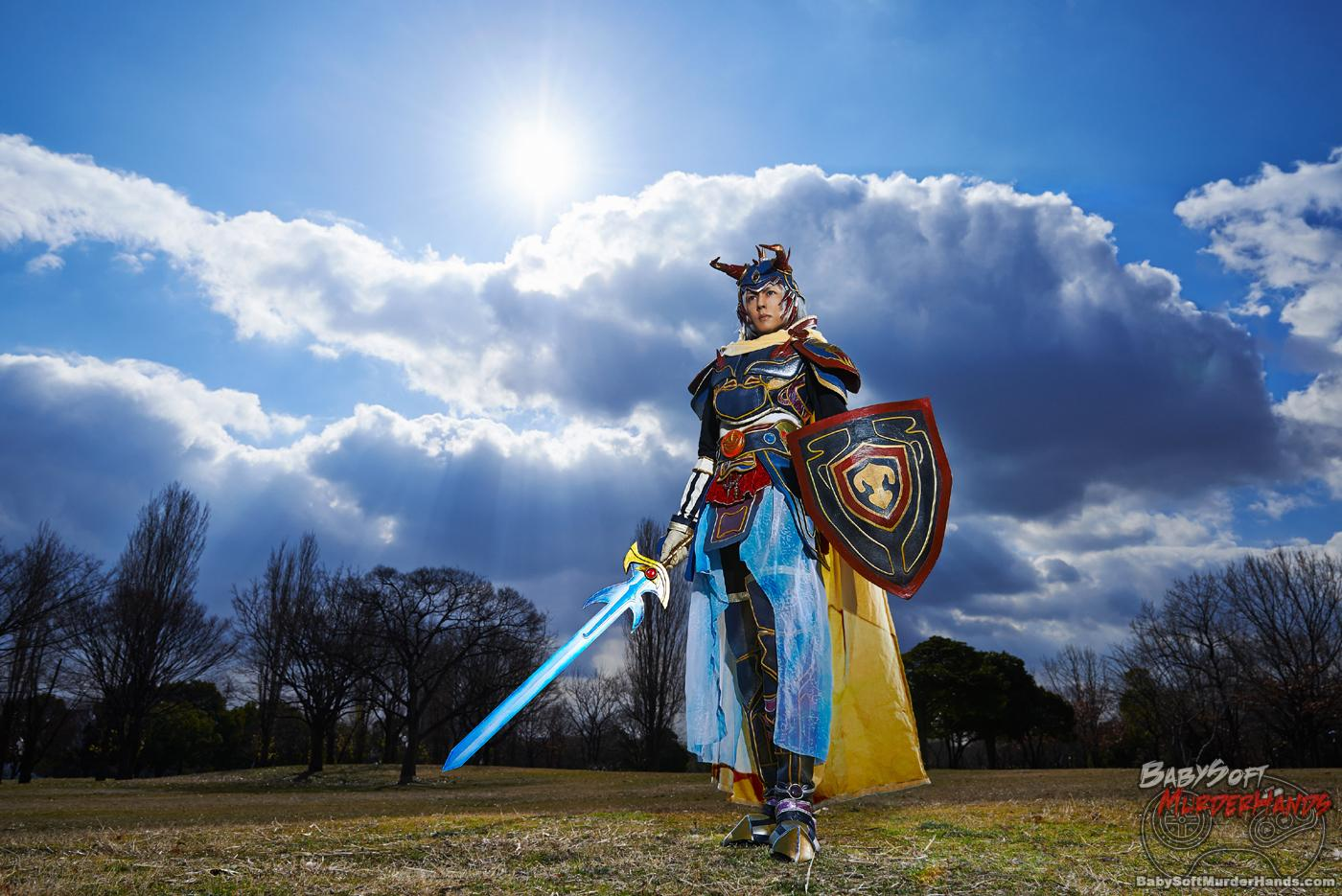 KANON) Warrior of Light of Dissidia Final Fantasy Cosplay