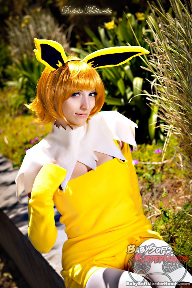 Jolteon Series Pokemon gijinka owl depot cosplay