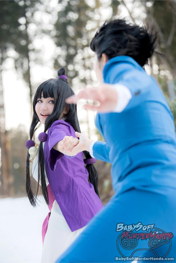 Maya Fey and Phoenix Wright Cosplay by Nagi