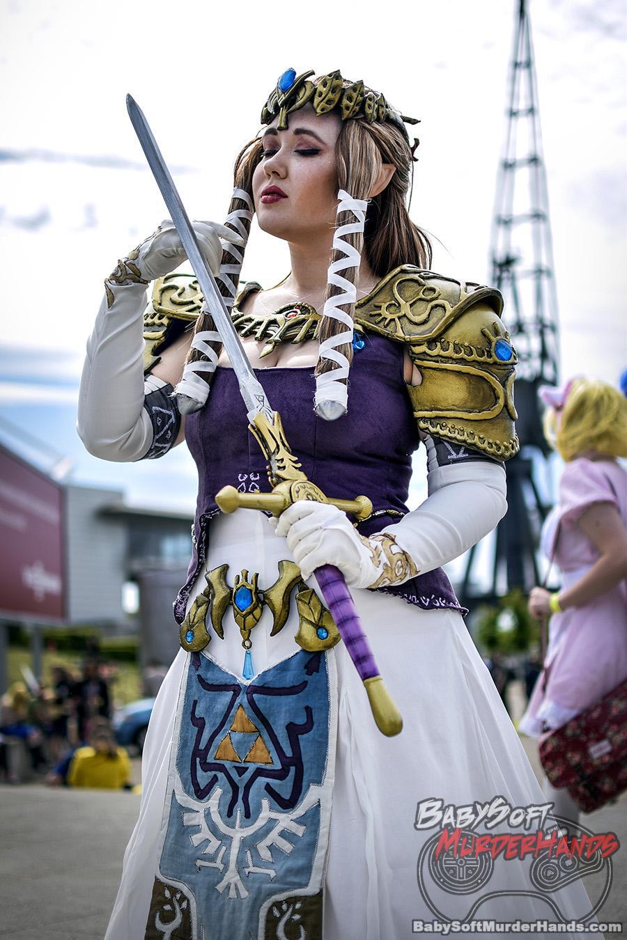 Zelda Series The Legend of Zelda: Twilight Princess cosplay master sword foam armor