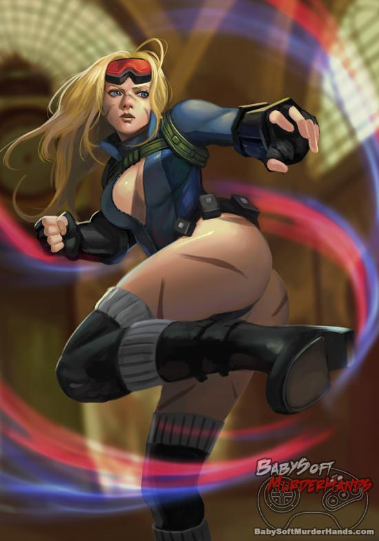 Cammy ZOMA fan art Street Fighter v