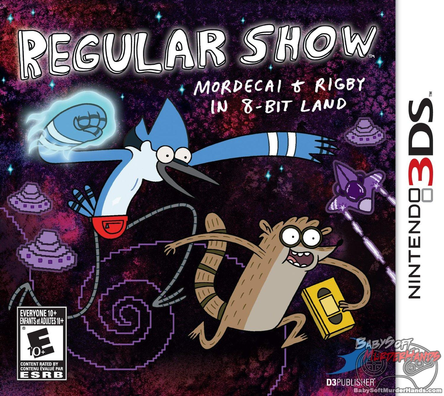 Regular Show: Mordecai and Rigby in 8-bit Land (D3 Publisher) CHeap 3ds games