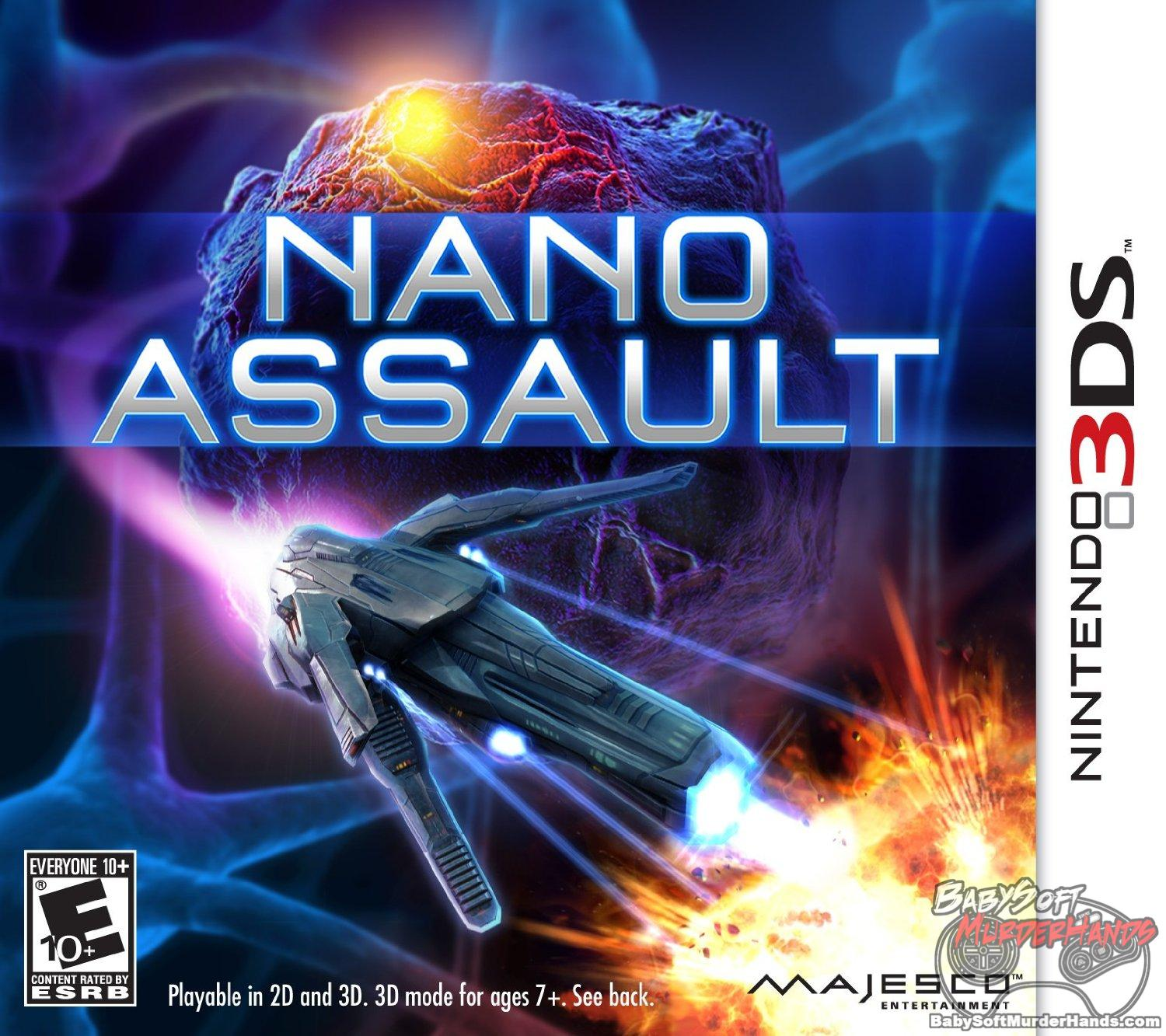 Nano Assault - Nintendo 3DS cheap 3ds games