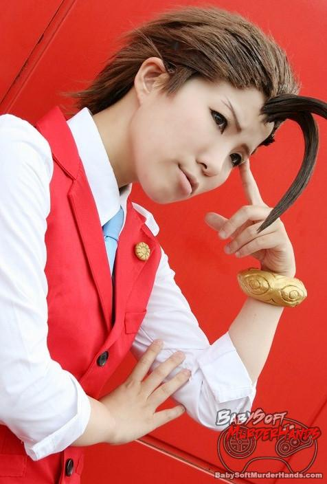 Apollo Justice from Apollo Justice: Ace Attorney Cosplay by zizzizziz