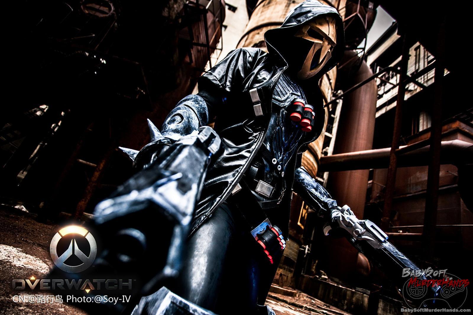 LiuJiaPeng (路行鸟) reaper cosplay