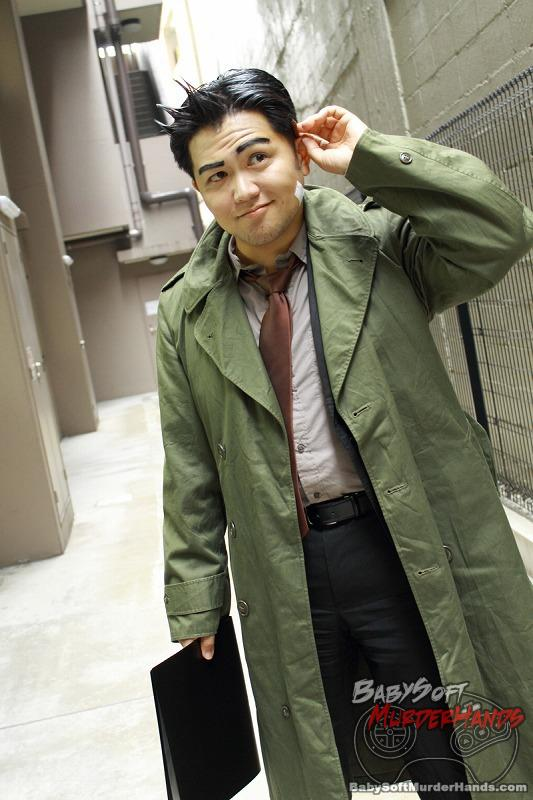 Dick Gumshoe of Ace Attorney Cosplay by Schwarz13 (しゅばるつ)