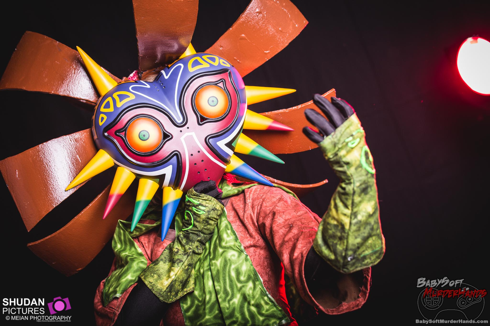 Tatasenko Mana (Tatasenko Mana) Skullkid of The Legend of Zelda: Majora's Mask Cosplay