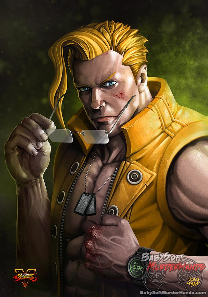 NASH art Street FighteR V fan art