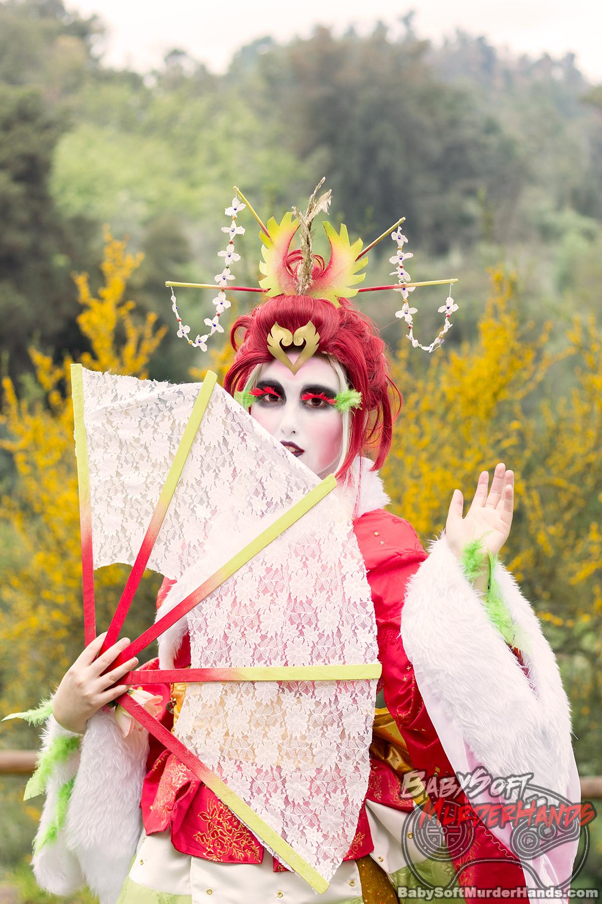 ho-oh pokemon gijinka cosplay