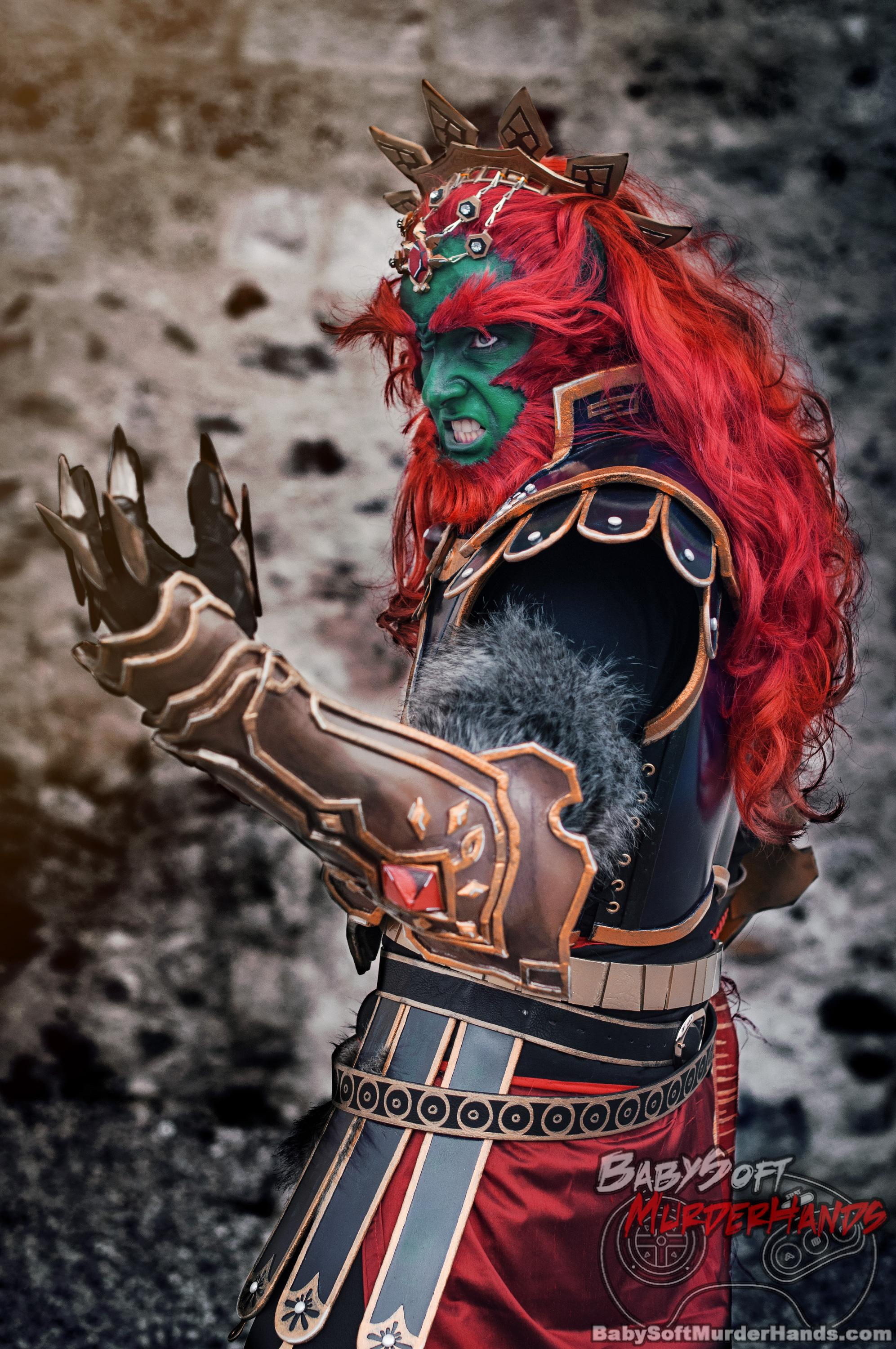 Nene Ycari ganondorf of HYRULE WARRIORS Cosplay