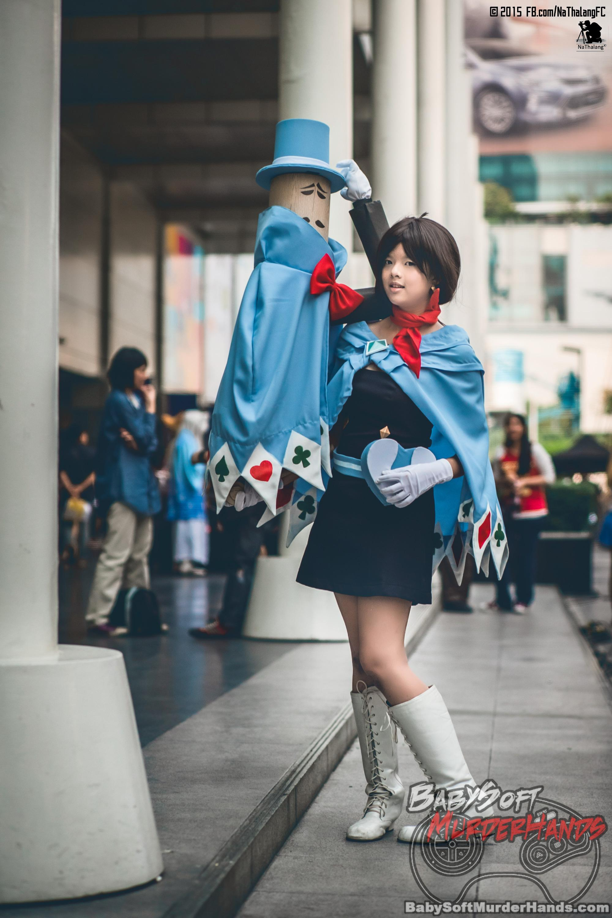Trucy Wright from Apollo Justice: Ace Attorney Cosplay by Rolene Farlast